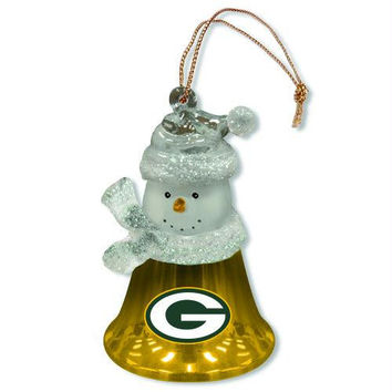 3 Christmas Ornaments - Green Bay Packers