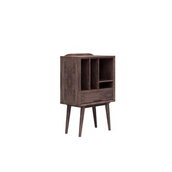Contemporary Storage 11.8'' Wide Bookcase