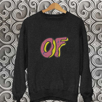 odd future sweater Black Sweatshirt Crewneck Men or Women Unisex Size