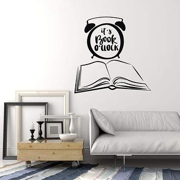 Vinyl Wall Decal Books Quote Library Shop Reading Corner Art Stickers Mural Unique Gift (ig5151)