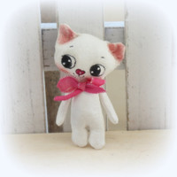 Teeny tiny Miniature kitten Blythe toy