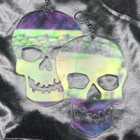 SKELETON HEAD EARRINGS