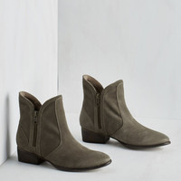 Lucky Penny Bootie in Stone by Seychelles from ModCloth