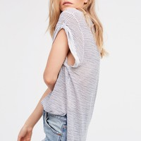 Free People Britney Printed Tee