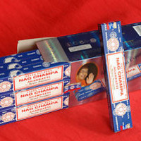 FREE SHIPPING Original genuine NagChampa Satya Sai Baba  incensesticks 12x15 GM