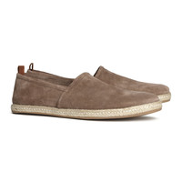 H&M - Leather Espadrilles - Nougat - Men