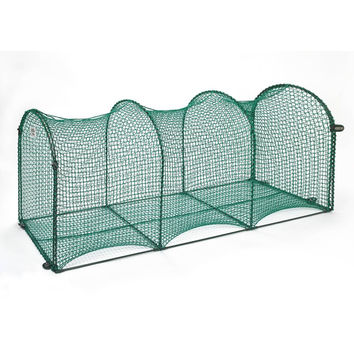 "Kittywalk Deck and Patio Outdoor Cat Enclosure Green 72"" x 18"" x 24"""
