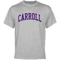 Carroll College Fighting Saints Basic Arch T-Shirt - Ash