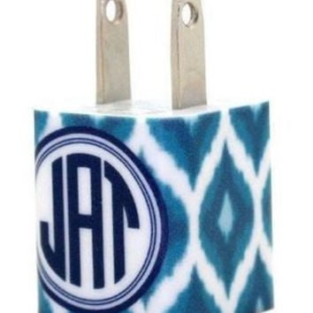 Monogram Chargers and Power Banks - Ikat Collection