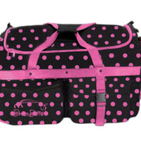 MEDIUM Blue Polka-Dot Dream Duffel®