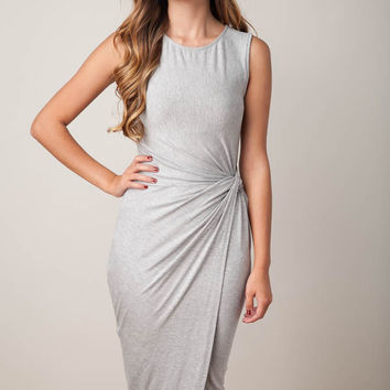The World Is Ours Grey Dress