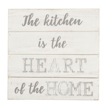 The Kitchen is the Heart of the Home - plaque