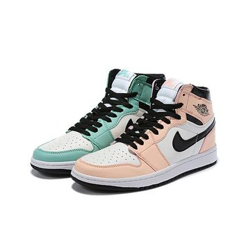 Air Jordan 1 High OG Mismatched Color Scheme - Best Deal Online