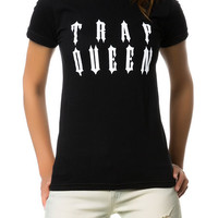 The Trap Queen Tee in Black