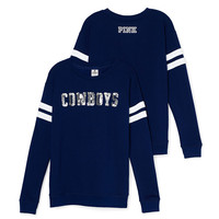 Dallas Cowboys Bling Crewneck Tee