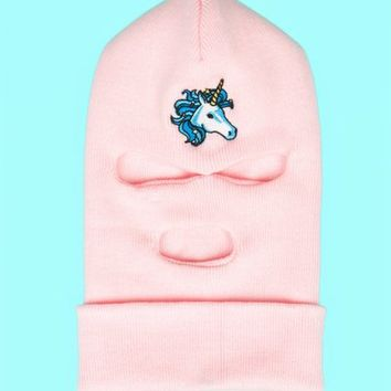 OPENING CEREMONY X SPRING BREAKERS UNICORN SKI MASK - WOMEN - OPENING CEREMONY X SPRING BREAKERS