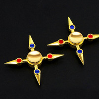 Naruto Hand Spinner Fidget Toy Stress Relief Metal Kunai Finger Spinner