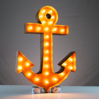 Vintage Marquee Lights - Anchor