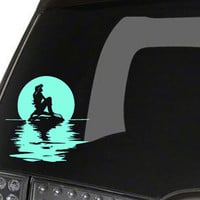 Ariel on the Water Car Decal, UPDATED DESIGN! Little Mermaid Inspired, Disney, Arial
