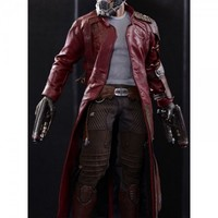 Guardians Of Galaxy Star Lord Coat- TheJacketMaker.com