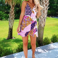 Put Me In The Mix Dress: Multi