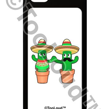 Fiesta Cactus Couple iPhone 5 / 5S Grip Case  by TooLoud