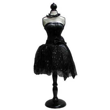 Black Mannequin Dress Form with Black Stand | Hobby Lobby | 495903