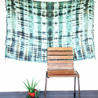 Tidepools Dreamer Sarong // Tie-dye, Beach Boho Pareo, Wrap, Blanket, Wall Hanging, Tapestry