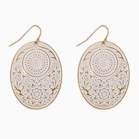 Etched Charlotte Earrings | Fashion Jewelry - Southwest Style | charming charlie