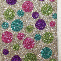 Sparkly Polka Dot iPhone 4/4S OR iPhone 5 Cell Phone Case - iTouch 5 also available