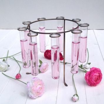 Test Tube Ring Vase