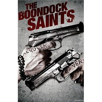 Boondock Saints Movie Poster Standup 4inx6in