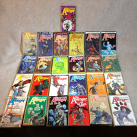 Collection of 25 Paperback Editions of The Avenger Books by Kenneth Robeson - From a private collection, 2 in plastic sleeves.
