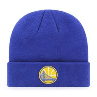 Golden State Warriors Logo Raised Cuff Knit Cap