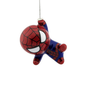 Hallmark Marvel Decoupage Figural Kawaii Ornament - Spider-Man