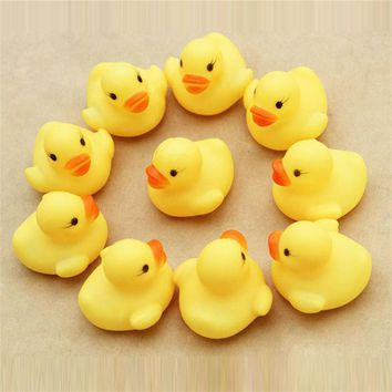 New One Dozen (12) Rubber Duck Duckie Baby Shower Water Birthday Favors Gift free shipping vee Just for you