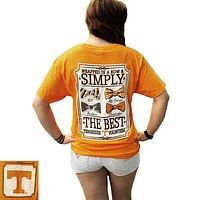 Tennessee Vols Volunteer Simply The Best Multi Bow T Shirt
