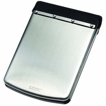 Zippo Stainless Steel Wallet RF Theft Resistant Secure Card Fold Men Women *NEW*