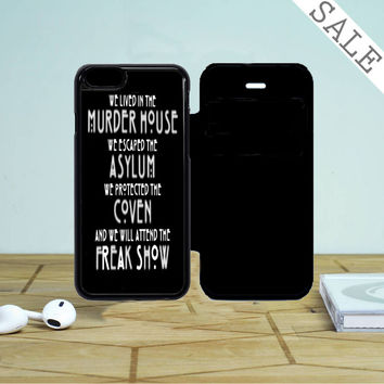American Horror Story Asylum iPhone 5 Flip Case