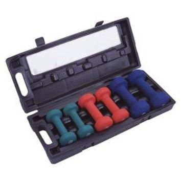Marcy 3 Pair Neoprene Dumbbell Set (NDS21.1)