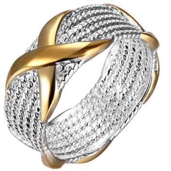 Silver Plated Fine Fashion Ring
