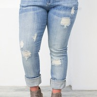 L.A. Light Skinny Denim | Plus