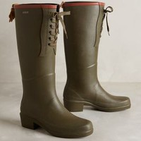 Aigle Avocet Wellies Moss