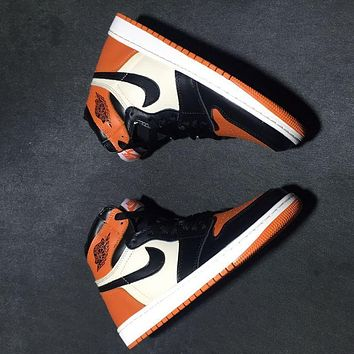 Air Jordan 1 Retro High OG Shattered Backboard Away AJ1 Sneakers