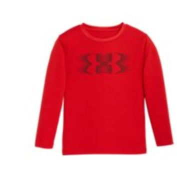 Under Armour Boys' Pre-School UA Speed Logo Long Sleeve