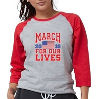 MARCH FOR OUR LIVES Womens Baseball Tee