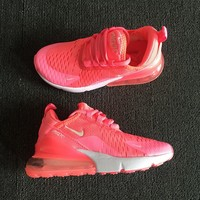 Nike Air Max 270 For Kids Pink White - Best Deal Online