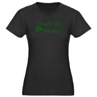 St. Patty's Day St patricks day Women's Fitted T-Shirt dark by CafePress