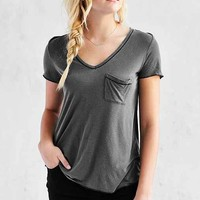 Truly Madly Deeply Amelia V-Neck Pocket Tee
