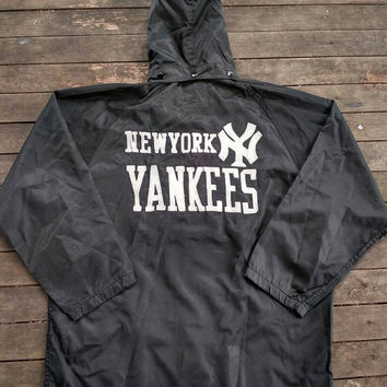 New York Yankees Hoodie windbreaker Jacket Big Logo Major League Baseball USA Sports Casual wear